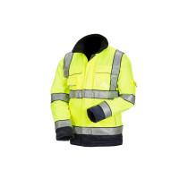 Huomiovärinen talvipusero kelta/sininen EN 20471 Lk.3 - 4022