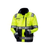 Huomiovärinen pusero sini/keltainen EN 20471 Lk.2 - 4024