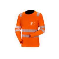 Huomiopaita pitkähihainen oranssi EN 20471 Lk.2 - 4069P