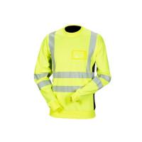 Priha huomiovärinen College paita kelta/musta EN 20471 Lk.2 - 4320