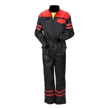 Priha kevyt suojahaalari musta/puna - 4016