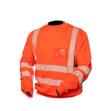 Priha huomiovärinen College paita oranssi/musta EN 20471 Lk.2 - 4321